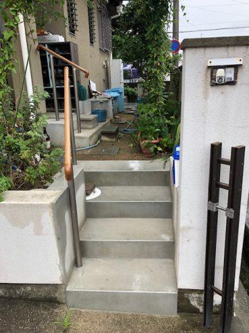 姫路市 介護保険の補助を利用し手すり工事
