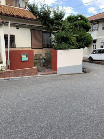 姫路市 塀塗装工事