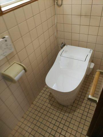 赤穂市 トイレ取替え工事
