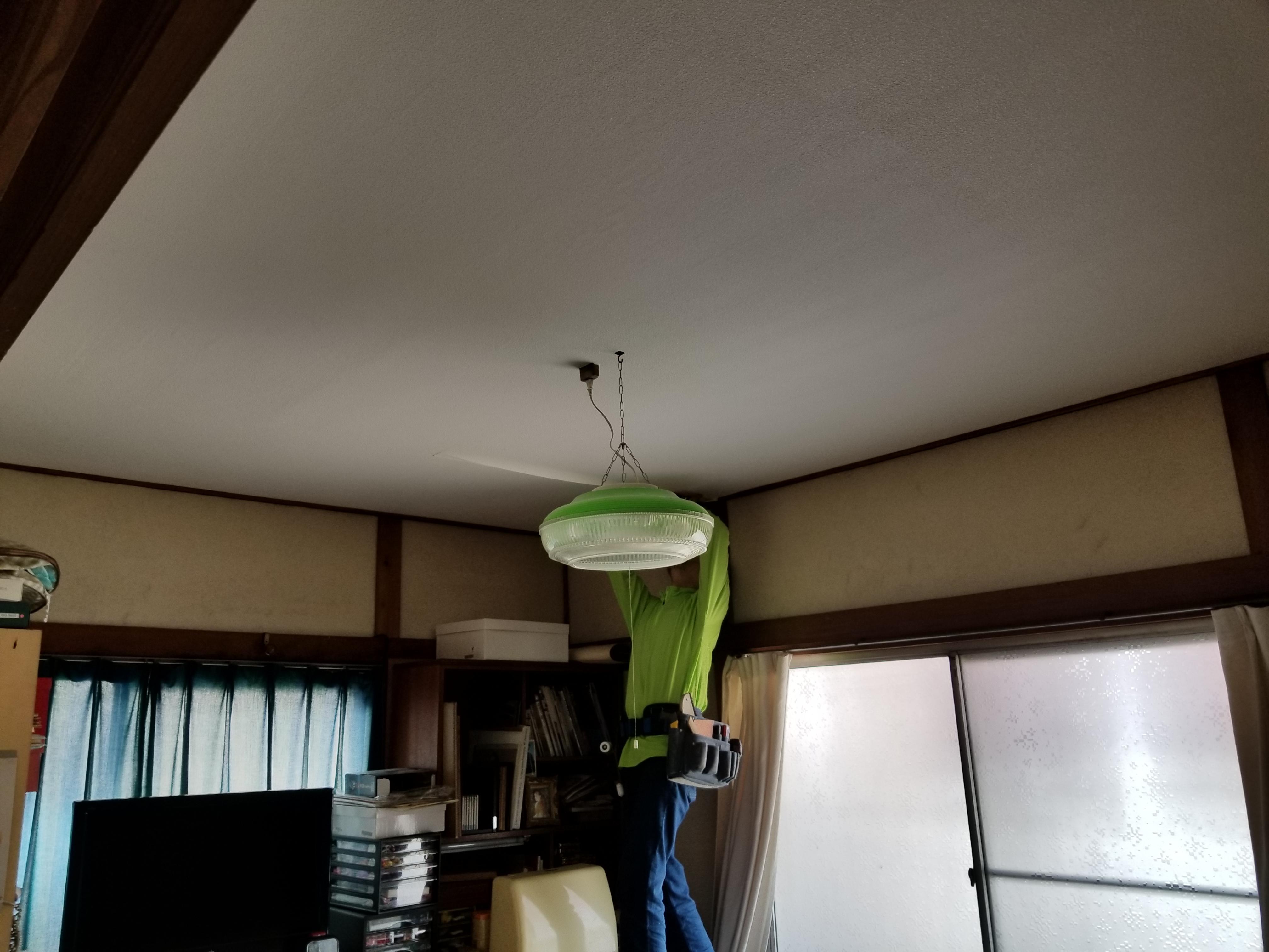高砂市 和室天井工事