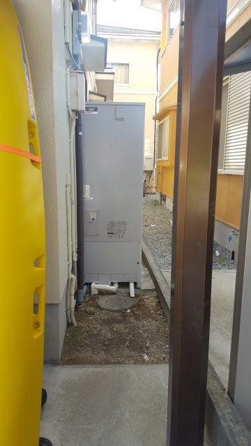 赤穂市 エコキュート取替工事