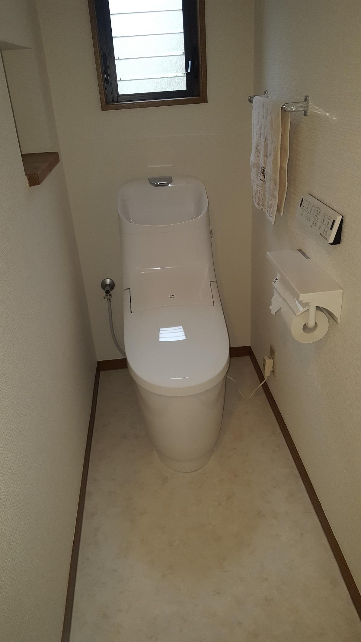 相生市 トイレ取替でスッキリしました!