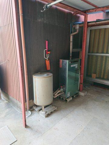 太子町 石油給湯器からエコキュートへ取替え