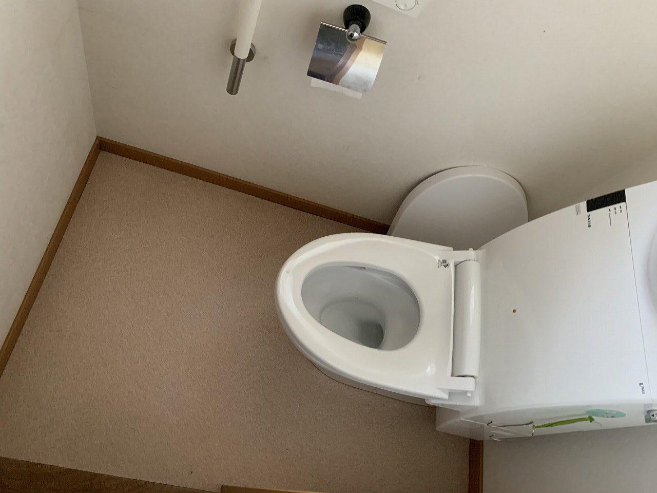 姫路市 トイレCFやり替え工事