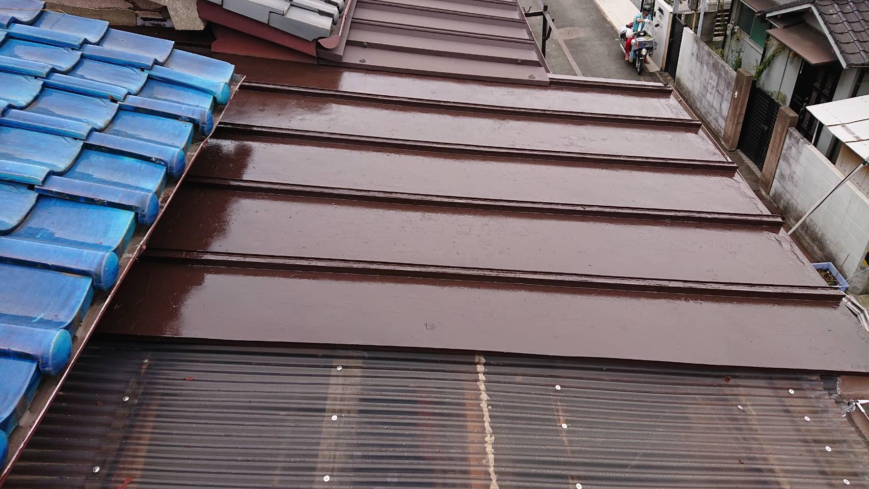 姫路市 屋根塗装工事