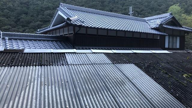 上郡町 倉庫屋根補修工事