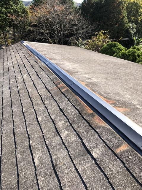 上郡町 屋根の棟修繕