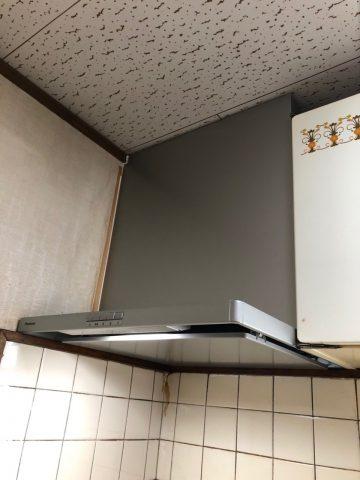 赤穂市 レンジフード取替工事