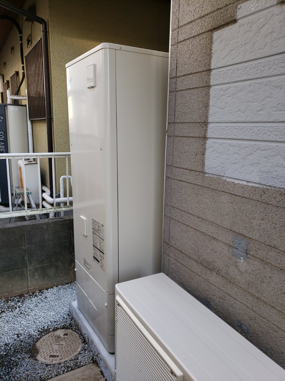 姫路市 給湯器入替え工事