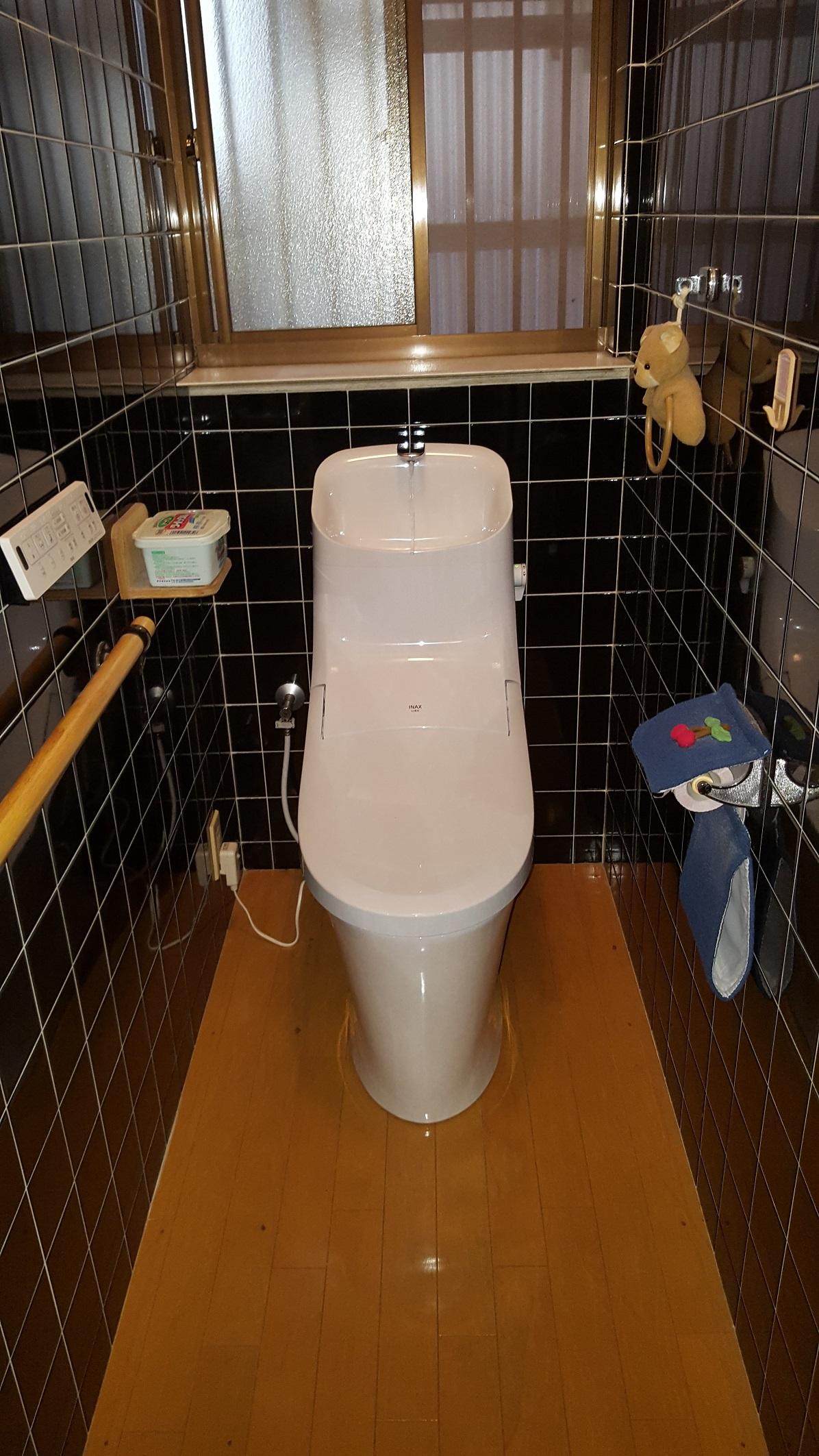 赤穂市 節水トイレ取替工事