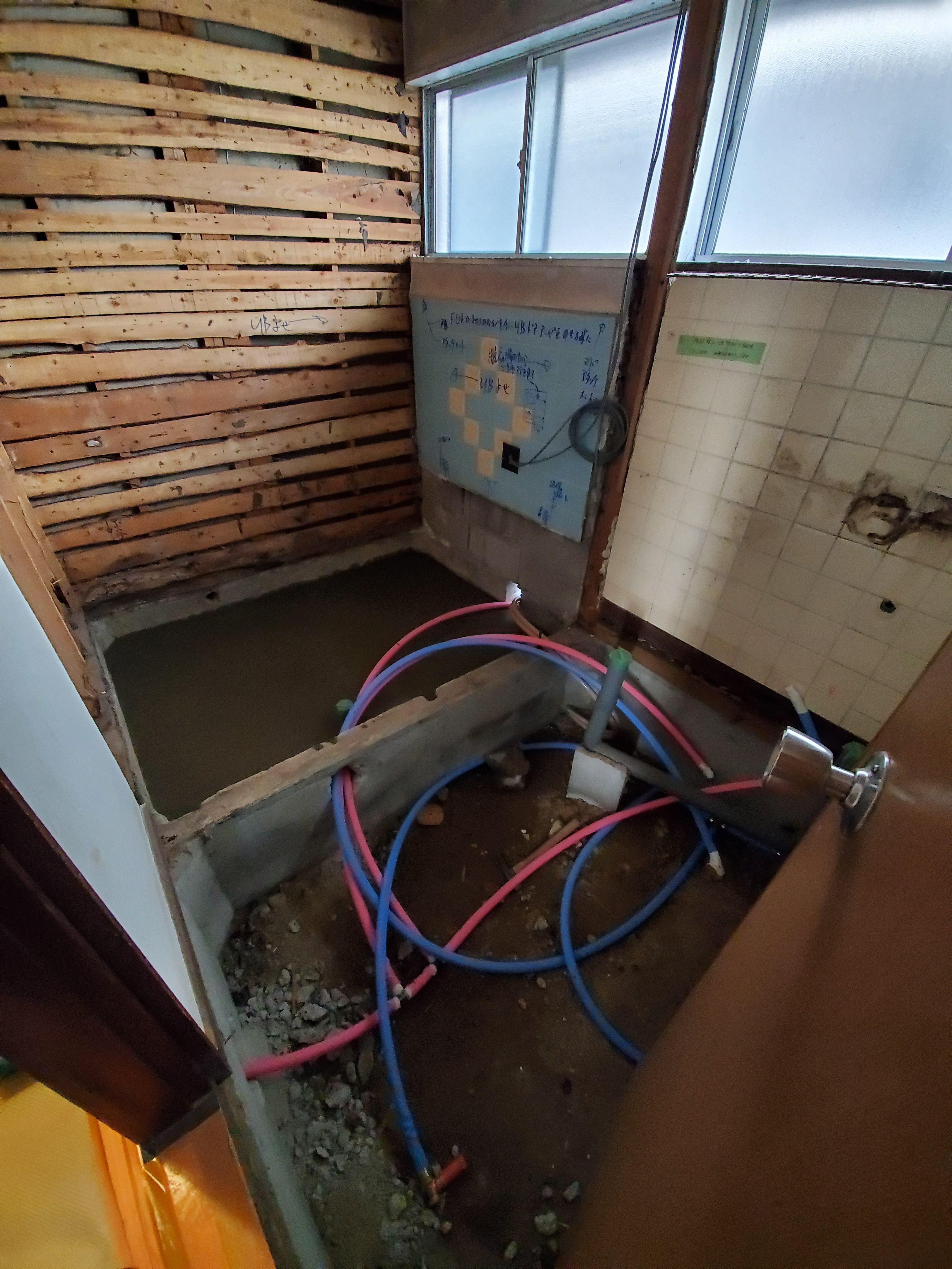 姫路市 浴室解体工事