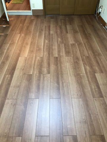 姫路市 マンション床張替工事