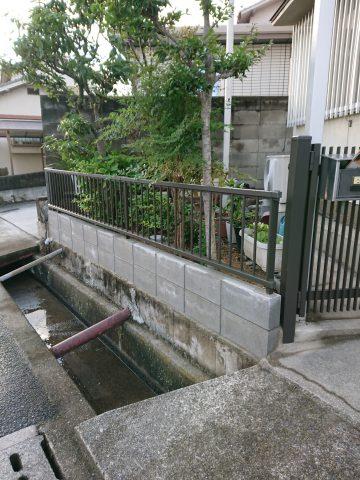 姫路市 門扉とフェンスの取替え