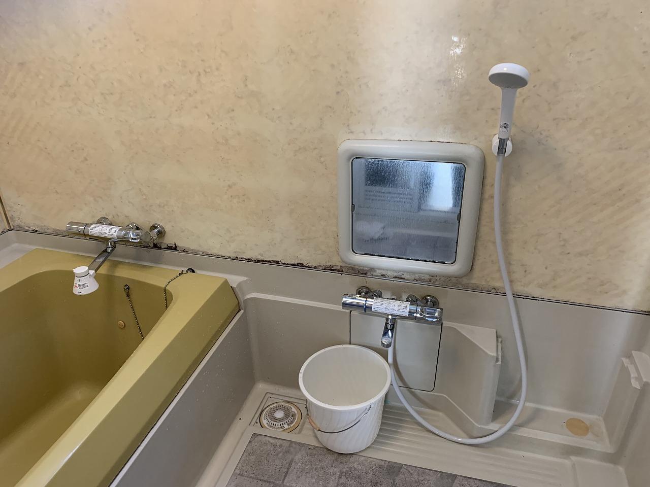 姫路市 浴室水栓金具交換