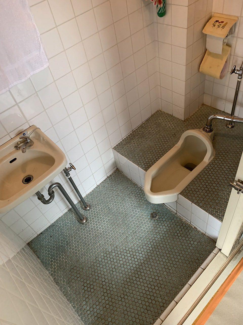 姫路市 トイレ和式→洋式