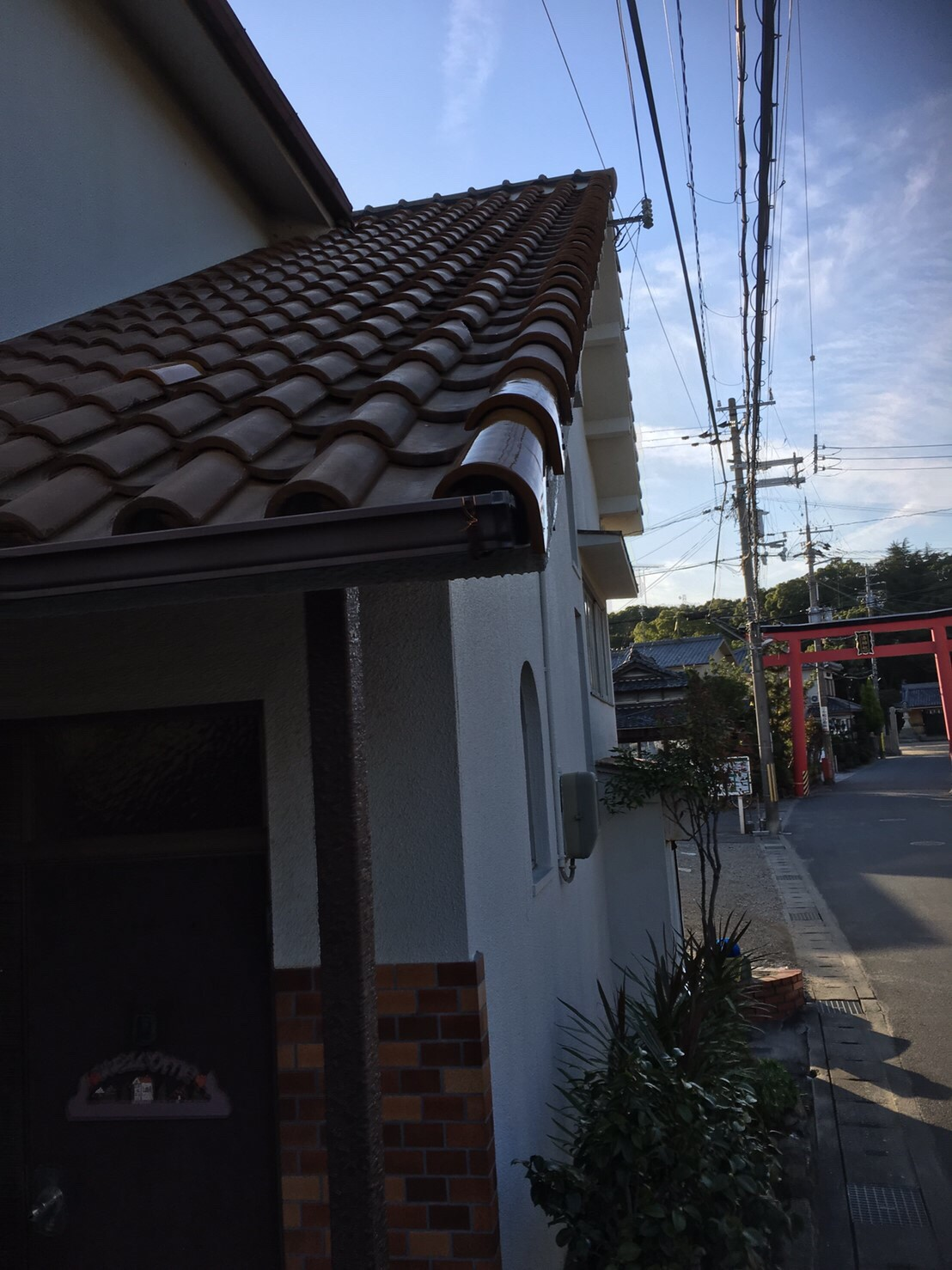 姫路市 屋根瓦補修工事