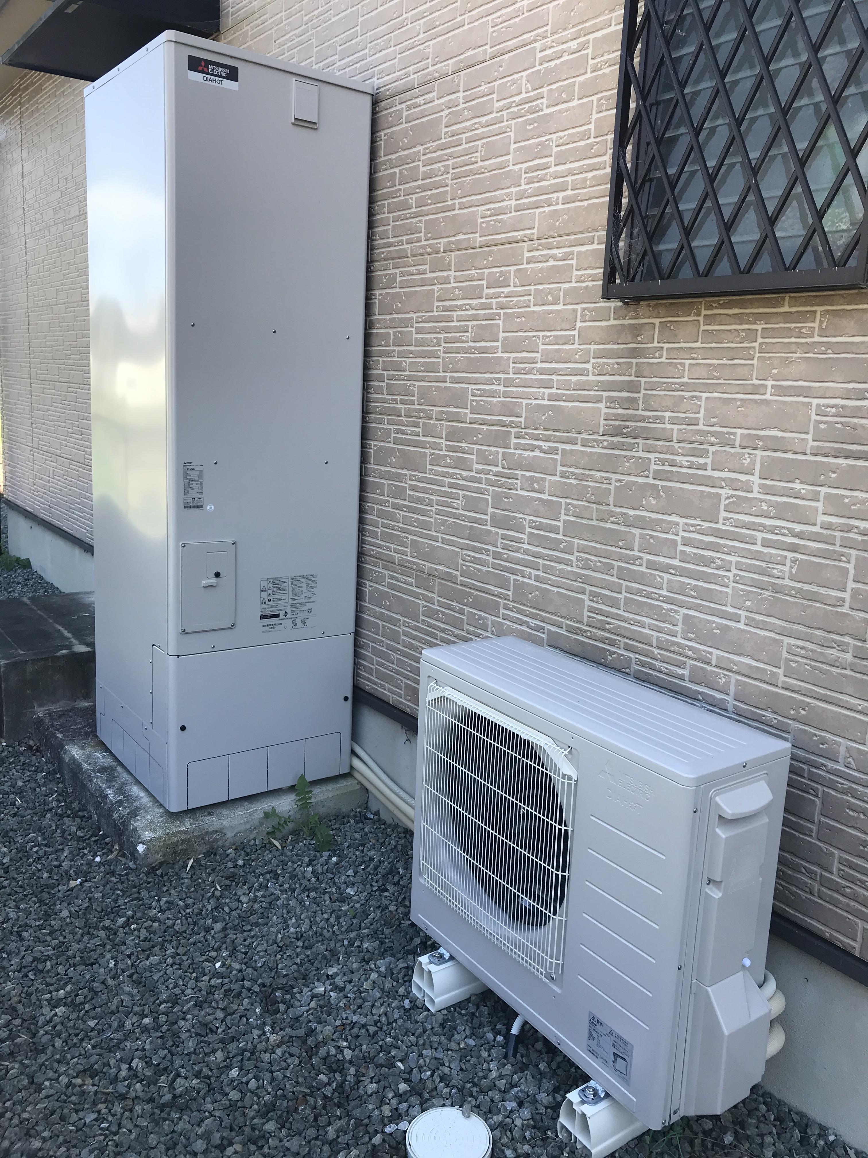 太子町 電気温水器からエコキュートへ