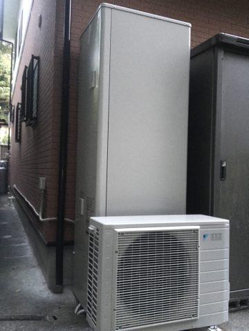 たつの市 ガス給湯器からエコキュート