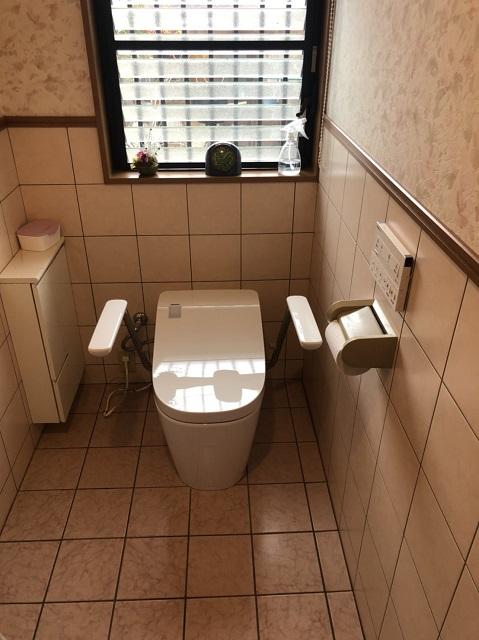 上郡町 トイレ取替工事