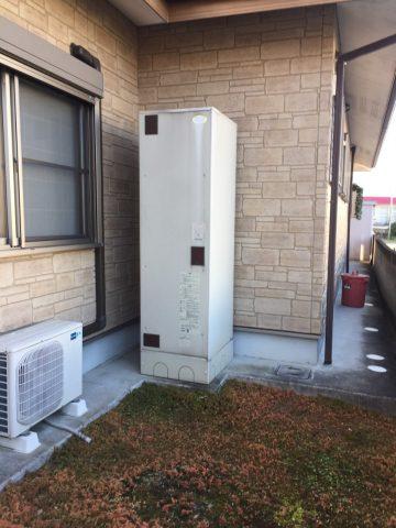 神崎郡 電気温水器からエコキュートに入替え