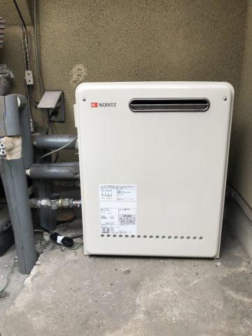姫路市 ガス給湯器からガス給湯器へ