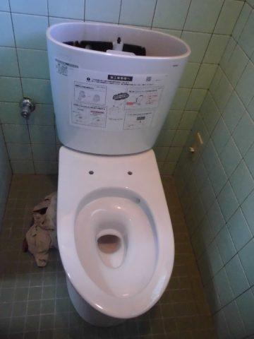 トイレ取替工事