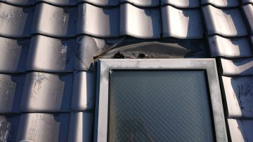 天窓雨漏り 修理
