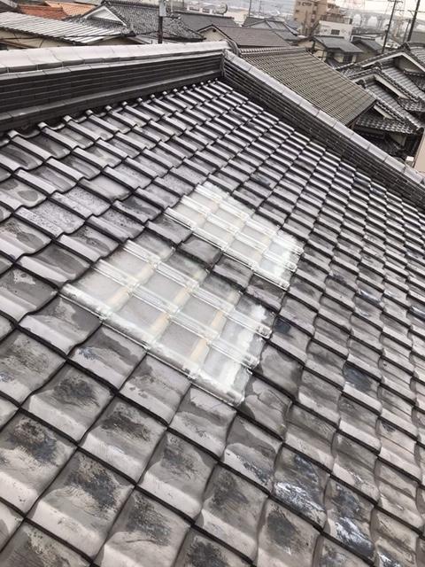 姫路市 天窓からの雨漏り