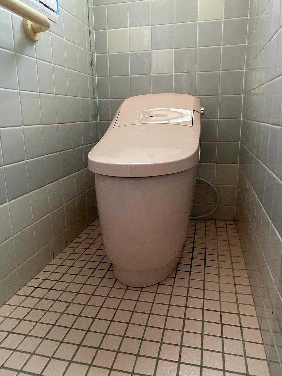 赤穂市 トイレ取替工事