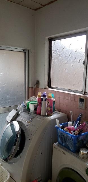洗面施工前①