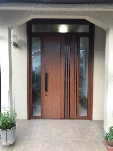 高砂市 簡単な玄関の取替工事