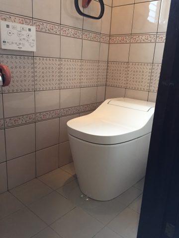 赤穂市 トイレの色が変わりました!