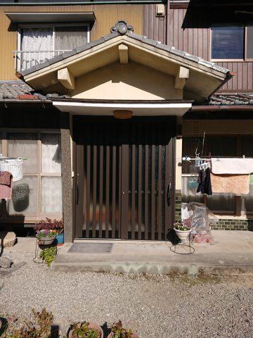 姫路市 玄関引戸の取替え