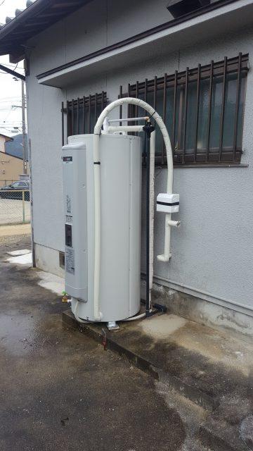 電機温水器取替