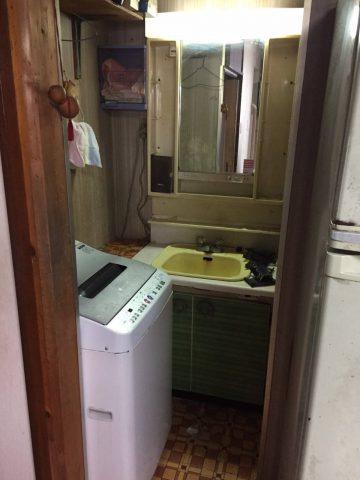既設洗面台