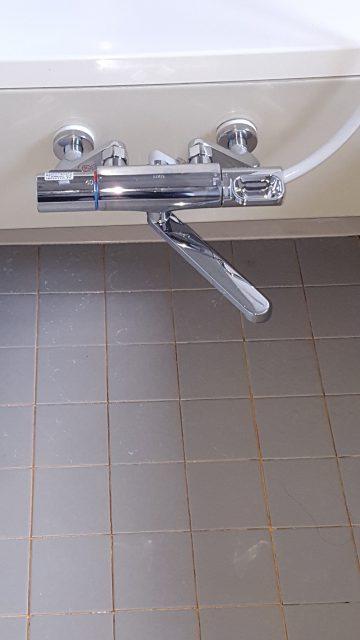 赤穂市 浴室シャワーが新しく!