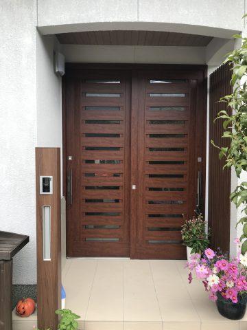 高砂市 玄関ドアの取替工事