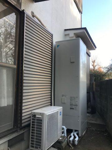 姫路市 エコキュートの取替工事