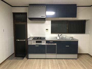 姫路市 収納力アップのキッチン
