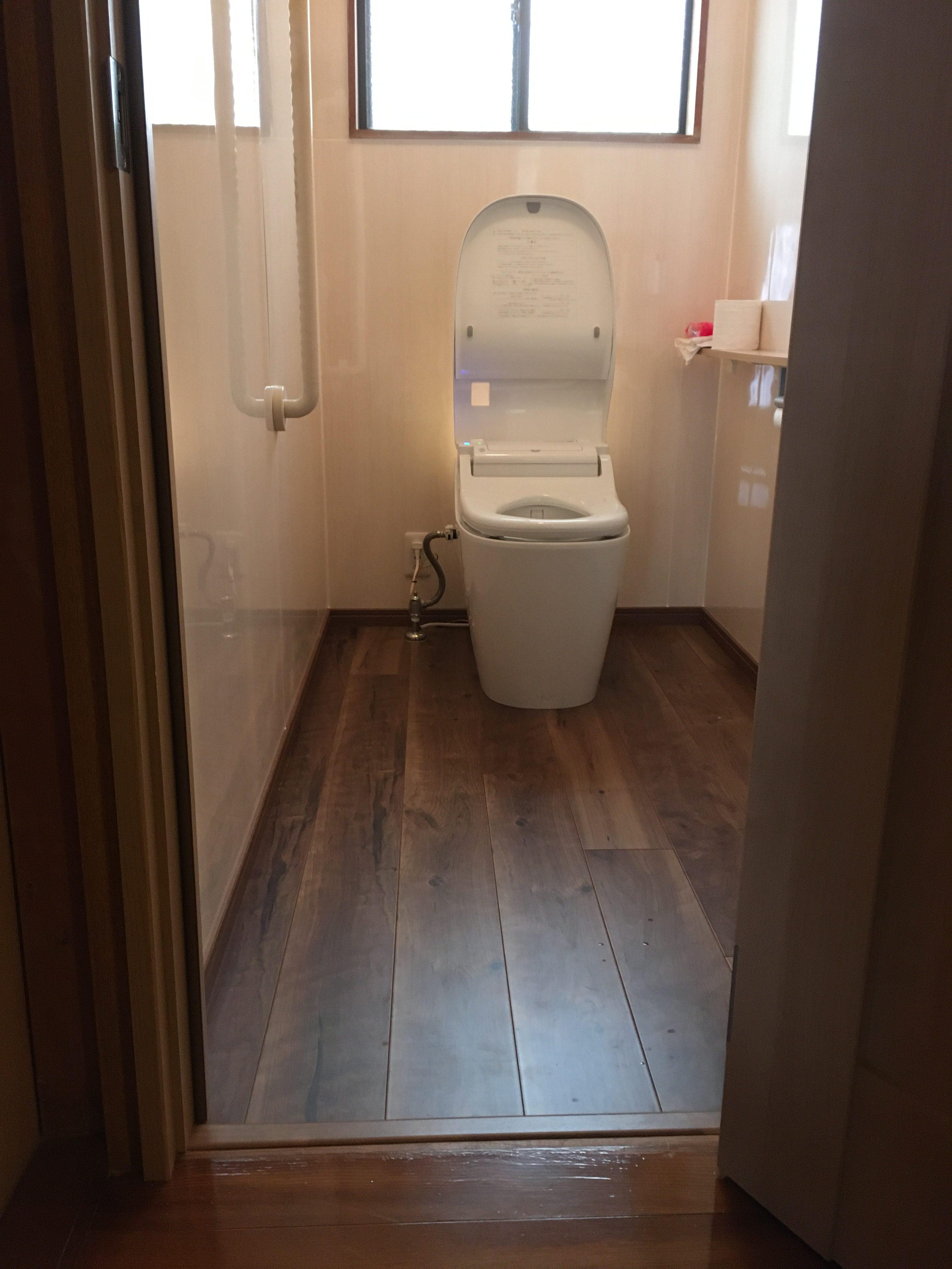 姫路市 介護保険使ってのトイレ改装工事