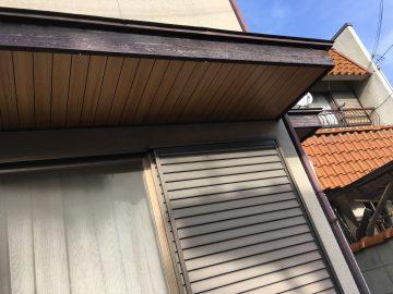 姫路市 庇の修理