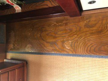 床の間床塗装