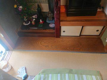 姫路市 床の間床塗装