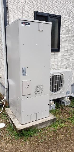 赤穂市 電気温水器からエコキュートに交換