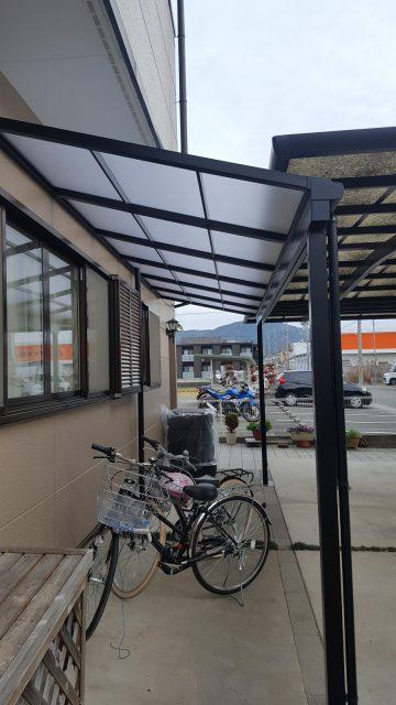 赤穂市 自転車が濡れなくなりました!