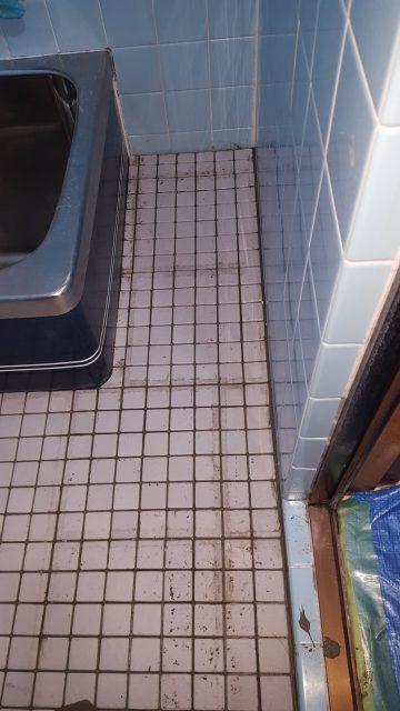 浴室床改修