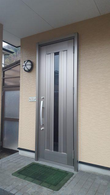 赤穂市 玄関ドア取替工事