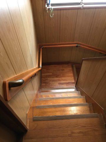 姫路市 階段手すり取付け