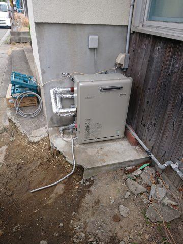姫路市 ガス給湯器の取替え