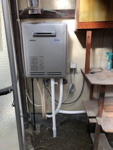 姫路市 給湯器交換工事